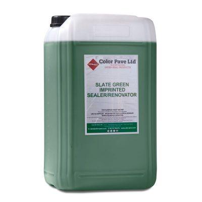 Slate Green Concrete Sealer