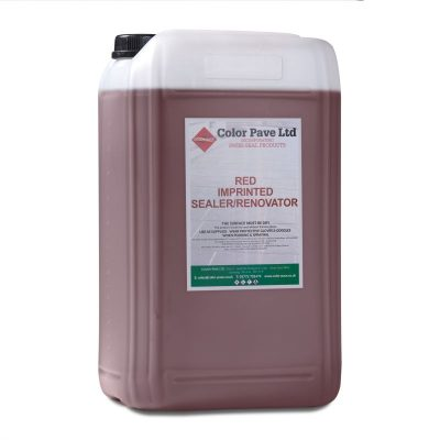 Red Concrete Sealer