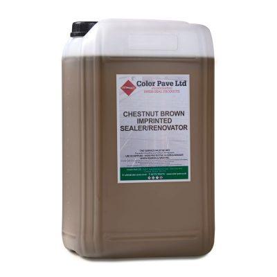 Chestnut Brown Concrete Sealer