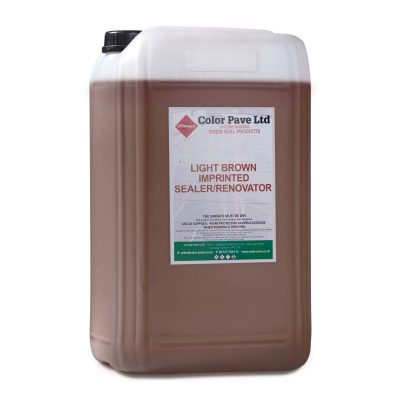 Light Brown Concrete Sealer