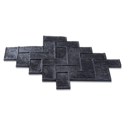 Herringbone Brick Imprint Mat