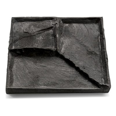 border brick imprinted concrete