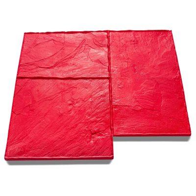 Large Ashlar Slate Imprint Mat