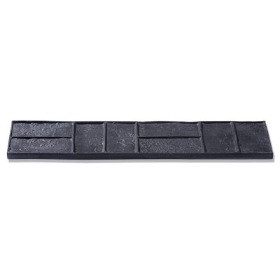 basket weave brick border mat
