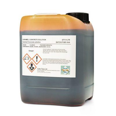Caramel Acid Stain