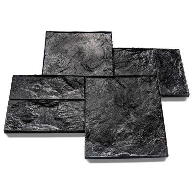 Grand Ashlar Slate Imprint Mat