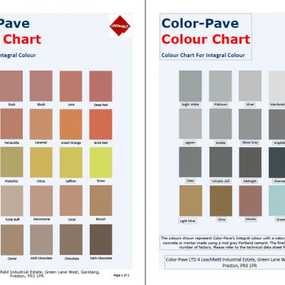 Integral Colour for Ready Mix Concrete